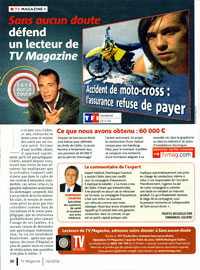Télécharger l'article de TV Magazine (PDF | 3,5 Mo)