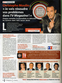 Télécharger l'article de TV Magazine (PDF | 3,13 Mo)
